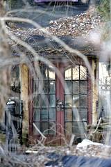 Lockdown (Roger Daigle) Tags: locked doors abandoned decay nikon