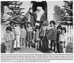 Santa Claus visits Knott's (jericl cat) Tags: 1977 santa claus knotts berryfarm merryfarm 1970s history marketing igloo home kids children christmas