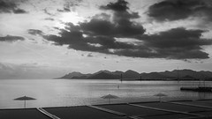 Baie de Cannes (totofffff) Tags: vsco trixx cannes croisette france french riviera street alpes maritimes mditerrane noir blanc black white festival film olympus om d e m1 expo droite