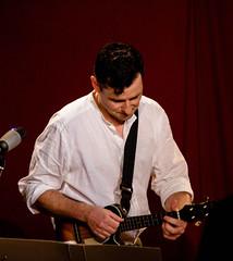 Steve Wharton + ukulele (allybeag) Tags: florencemine egremont cumbriansongsstories stevewharton music song dance stories poetry entertainment ukulele uke