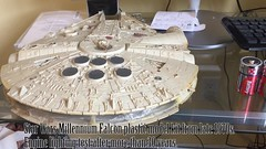 1970s Star Wars Millennium Falcon engine lighting test (Trevdog67) Tags: 1970s starwars millenniumfalcon falcon plastic model hansolo solo chewbacca han video kit engine lighting test chewie wookie corellian yt1300 freighter smuggler 12parsecs episodeiv anewhope