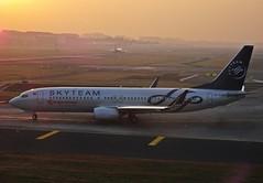 Kenya Airways SKYTEAM livery...take off from BOM (Sriram.SN) Tags: kenya airways flight mumbai
