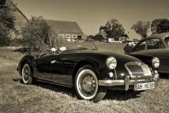 Black MGA-sepia (Torquemada1965) Tags: arden british days