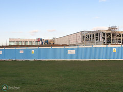 03/12/16 (Dave.Kirwin) Tags: flemingpark building eastleighboroughcouncil eastleigh hampshire sportscentre constructionwork newbuild