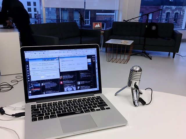 Live Broadcasting the CC Fireside Chat