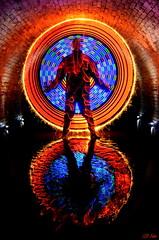 Culvertisation (LED Eddie) Tags: longexposure portrait lightpainting reflection best redbricks culvert lightpainter grandmaster tooledup ulimate markoneill idontownphotoshop opticalnirvana lededdie uklightartist uklightpainter notyetdunkedthecamera amazinglightpainting