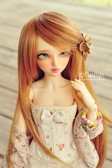 I named her Noah (Eludys) Tags: house doll caroline chloe bjd fairyland viridian msd mnf minifee