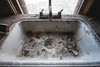 (Erin Watson/Abandoned Exploration) Tags: old favorite house abandoned home kitchen beautiful beauty farmhouse canon midwest photographer sad sink decay farm empty dirty clean drain nostalgia wash forgotten memory faucet filthy 2013 beautyindecay widonw erinwatson erinwatsonphotography