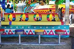 Empty Seats (skipmoore) Tags: carnival arcade explore midway marincountyfair2013