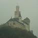 Marksburg in the mist.