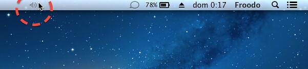 personalizar los iconos de la barra de menú en OS X menu bar posición