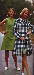 Spiegel 73 ss plaid coat (jsbuttons) Tags: fashion vintage clothing buttons spiegel coat womens clothes button 70s catalog plaid seventies 1973