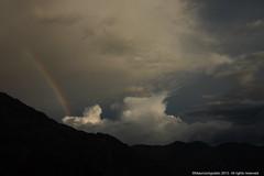 Arco Iris (Ivan Mauricio Agudelo Velasquez) Tags: cloud mountain arcoiris colombia tormenta silueta montaa could nube antioquia blinkagain
