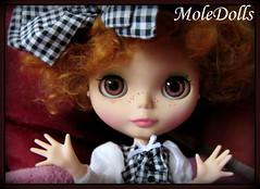 Custom Blythe N.70 by MoleDolls