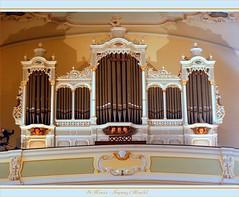 Église St-Maurice (Freyming, 57) (LauterGold) Tags: france organ lorraine orgel moselle orgues kirchenorgel freyming freymingmerlebach buffetdorgues freimengen frédérichaerpfer
