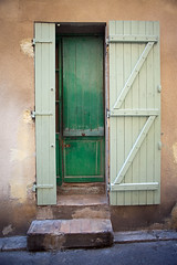 Grasse... (Lady Haddon) Tags: france grasse cotedazur rustic greendoor frenchdoor 2013 perchedvillage sep2013