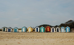 The famous Southwold beach huts (Kirkleyjohn) Tags: beach suffolk beachhut southwold beachphotography