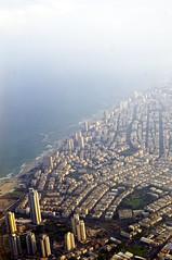 Tel Aviv from above (Ben Unleashed!) Tags: above sky plane airplane israel fly flying telaviv flight aerial pentaxkr