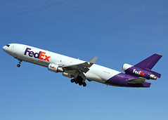N577FE McDonnell Douglas MD-11F Fed Ex (Keith B Pics) Tags: alaska anchorage fedex anc federal md11 panc n577fe