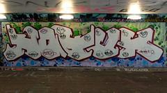 Graffiti Overschie (oerendhard1) Tags: graffiti streetart urban art tunneltje overschie rotterdam hotus oerendhard
