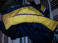 WTL nylon Michigan bubble coat,  from 1998 (Clothes Mountain) Tags: uk winter michigan coat down jacket bubble hood 1998 nylon 1990s padded englang flickrandroidapp:filter=none