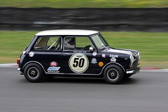Pre-66 Anglo French Battle (ComfortablyNumb...) Tags: french battle mini s 1966 66 pre cooper mia minicoopers bmc minis brandshatch anglo mk1 minifestival pre66 miniracingfestival