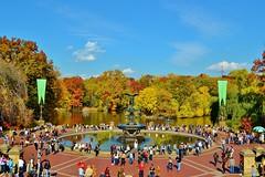 Central Park-Bethesda Fountain, 11.02.13 (gigi_nyc) Tags: nyc newyorkcity autumn leaves centralpark autumnleaves autumncolors fallfoliage bethesdafountain leafpeeping thisisnewyorkcity