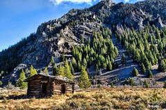 Bonanza-Idaho-ghost-town (Pattys-photos) Tags: old cabin idaho ghosttown bonanaza
