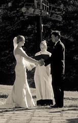 Wedding at Brighton (RedVideo) Tags: wedding blackandwhite monochrome groom bride brighton noiretblanc casamento hochzeit pretoebranco bnw noiva novio  braut noivo          redvideo