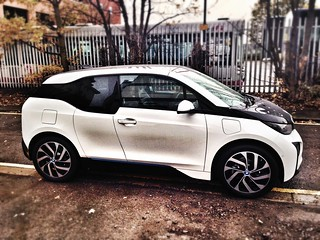 BMW i3 Side On Closed Doors Car Leasing Made S...