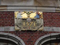 Amsterdam gevelsteen Maria Boodschap (Arthur-A) Tags: church netherlands amsterdam maria mary nederland kirche annunciation kerk eglise wallstone protestant gevelsteen boodschap