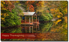Happy Thanksgiving (jeannie'spix) Tags: thanksgiving fall reflections highlands banner ncarolina october2013