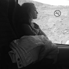 En sus pensamientos (Thagohorcer) Tags: mujer chica autobus guagua pensando telde pensativa uploaded:by=flickrmobile flickriosapp:filter=nofilter