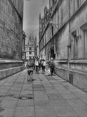 AN ALLEY IN OXFORD, ENGLAND (deepfoto) Tags: england oxford