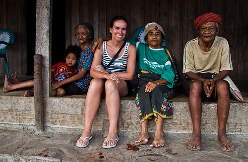 Indonesie_Flores_Wogo_traditioneel dorp
