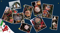 Ornament Collage (MissyPenny) Tags: christmas christmastree ornaments bristolpennsylvania missypenny