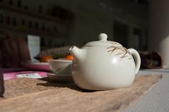 Crockery #2 (.Andy Hall.) Tags: stilllife brown white tea bokeh taiwan pot teapot taipei crockery