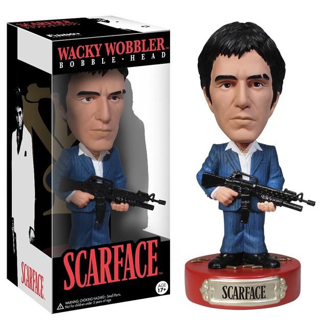 FUNKO WACKY WOBBLER 系列【疤面煞星】Scarface 艾爾.帕西諾