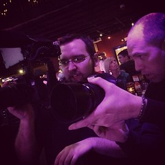 "Camera check for miss @tarralayne before she rocks Jergels. Multi talented @mindbender412 behind the canon. #jergels #tarralayne #mindbender #urbanrock #urbanrockchick #a-side • <a style=""font-size:0.8em;"" href=""https://www.flickr.com/photos/62467064@N06/11506090263/"" target=""_blank"">View on Flickr</a>"