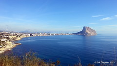 Peñón de Ifach - that's one spectacular piece of rock! The approach to the South Face routes is hard to beat, maybe 20 minutes from the car with virtually no elevation gain!