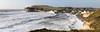 Hercules at Freshwater Bay  - Panorama (s0ulsurfing) Tags: uk greatbritain england panorama storm english beach island photography waves image unitedkingdom january stormy spray vectis isleofwight gb splash isle hercules wight 2014 westwight stormwatching freshwaterbay s0ulsurfing jasonswain