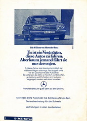 FC Zurich vs Rangers - 1976 - Page 2 (The Sky Strikers) Tags: cup car mercedes benz european zurich ad fc rangers 1976