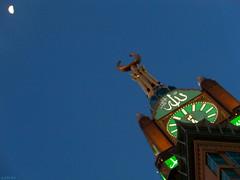 Zamzam Tower (gLySuNfLoWeR) Tags: moon muslim islam allah makkah zamzamtower