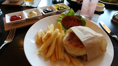 Markham's burger