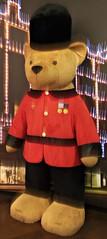 Harrods Bear, London (teresue) Tags: bear uk greatbritain england london unitedkingdom harrods teddybear bookmarks kensington bookmark harrodsbear 2013 bramptonroad