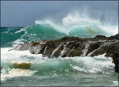 Seaspray (jenni747) Tags: sea nature rocks wave australia spray spindrift naturesfinest the4elements anawesomeshot