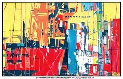 HAMBURGER HAFEN: SCHWIMMKRAN UND CONTAINERSCHIFF (CHRISTIAN DAMERIUS - KUNSTGALERIE HAMBURG) Tags: orange berlin rot silhouette modern strand deutschland see licht stillleben dock gesicht meer wasser räume hamburg herbst felder wolken haus technik menschen container gelb stadt grün blau ufer hafen fluss landungsbrücken wald nordsee ostsee schatten spiegelung schwarz elbe horizont bilder schiffe ausstellung schleswigholstein landschaften wellen rapsfelder hafenhamburg acrylbilder realistisch nordart acrylmalerei kunstdrucke auftragsmalerei elbphilharmoniehamburg auftragsbilder norddeutschelandschaften galeriehamburg kunstausschreibungen kunstwettbewerbe auftragsmalereihamburg cdamerius hamburgerkünstler malereihamburg bilderleasen landschaftennorddeutschlands bildermieten kunstgaleriehamburg künstlerhamburg bilderwerkhamburg galerieninhamburg acrylbilderhamburg virtuellegaleriehamburg acrylmalereihamburg