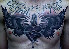 Outstanding Heart Angel Wings Tattoos On Chest 017 (tattoos_addict) Tags: angel wings heart chest tattoos 017 outstanding skulltattoos hearttattoos keytattoos