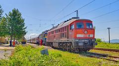 Ludmilla to the rescue! (BackOnTrack Studios) Tags: train br rail db bulgaria 600 passenger 232 ludmilla schenker 3620 bdz 44002 iganovo