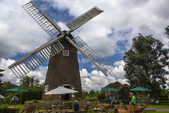 140607_365_Berkswell windmill (Damien Walmsley) Tags: uk england sky windmill clouds countryside sails warwickshire berkswell berkswellwindmill